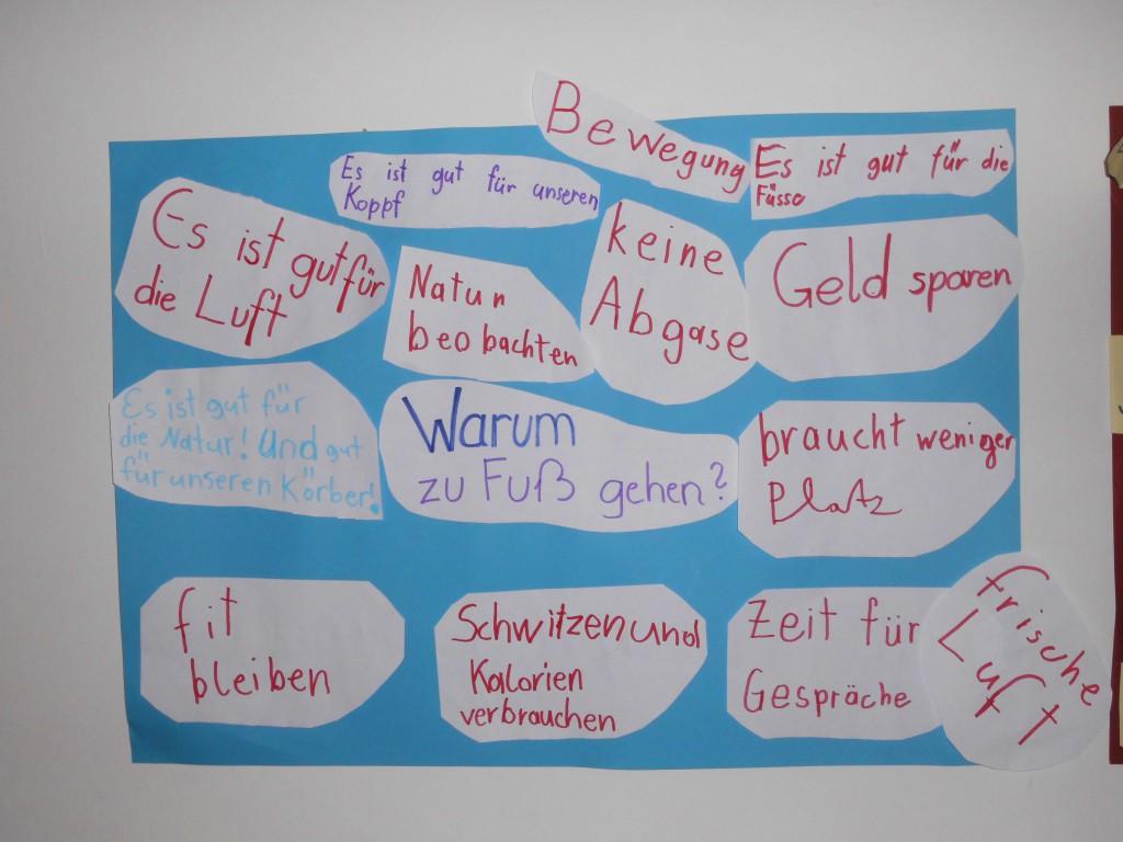 """Hort Leithagasse, Projekt """"Zu Fuß zur Schule – Zu Fuß in Wien"""""""