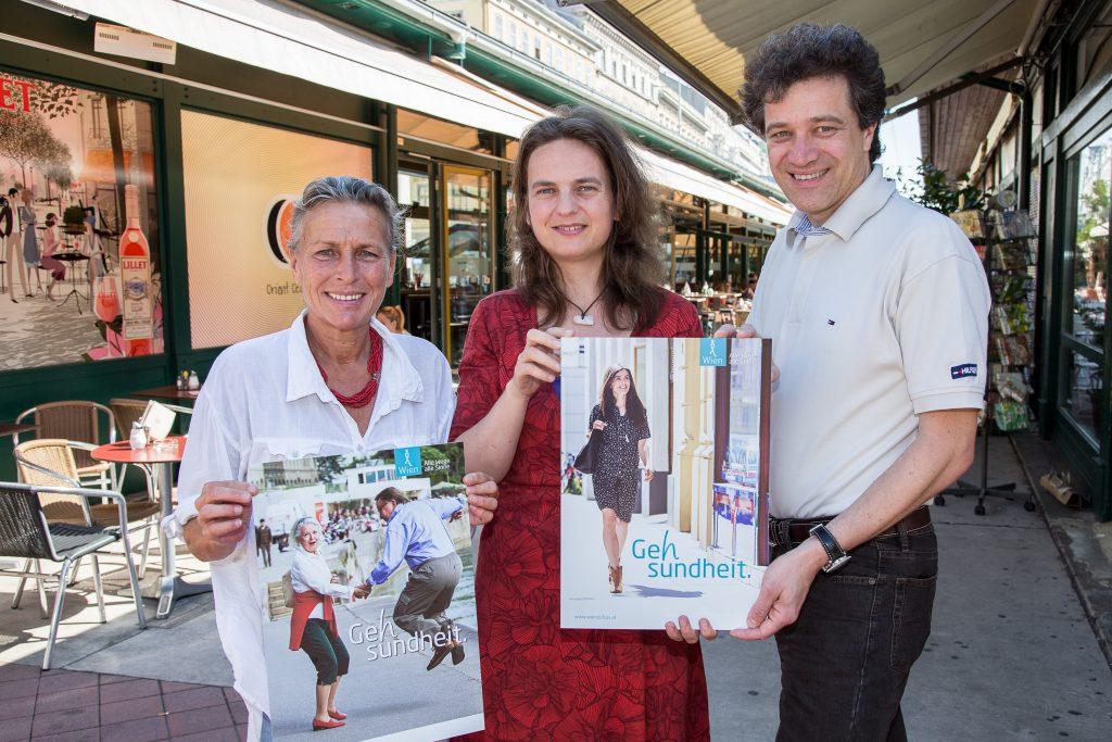 Präsentation Kampagne Gesund zu Fuß