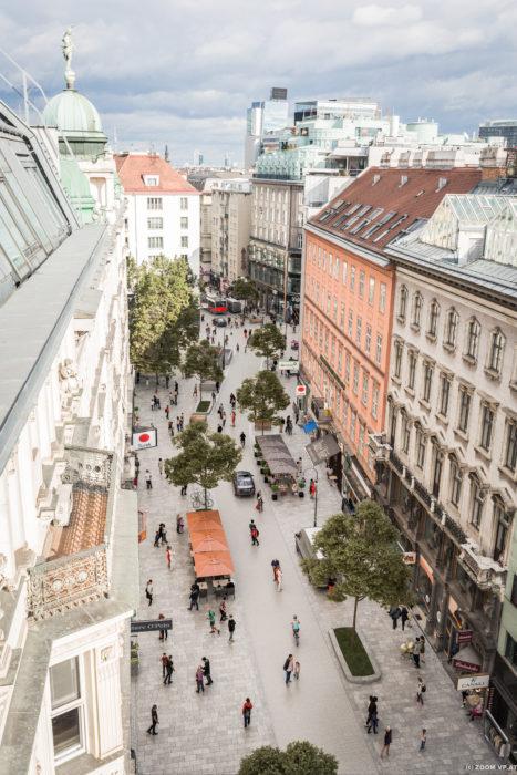 Diese Visualisierung zeigt, wie die Rotenturmstraße schon bald aussehen wird. (c) zoom vp