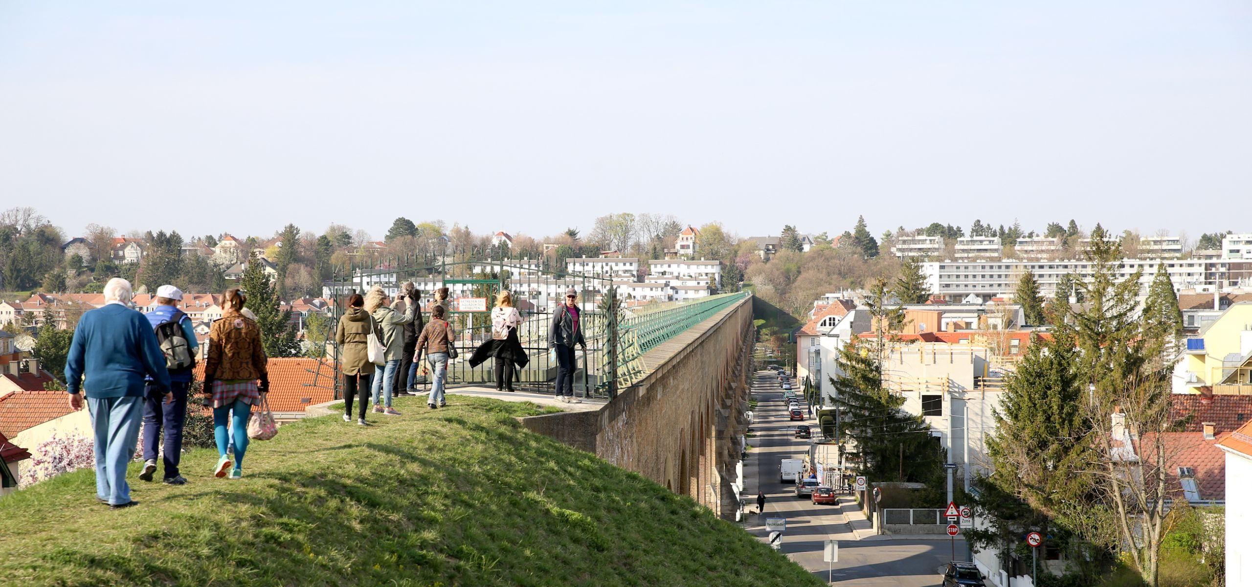 Das Aquädukt in Liesing