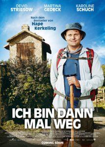 """Filmplakat von """"Ich bin dann mal weg"""""""