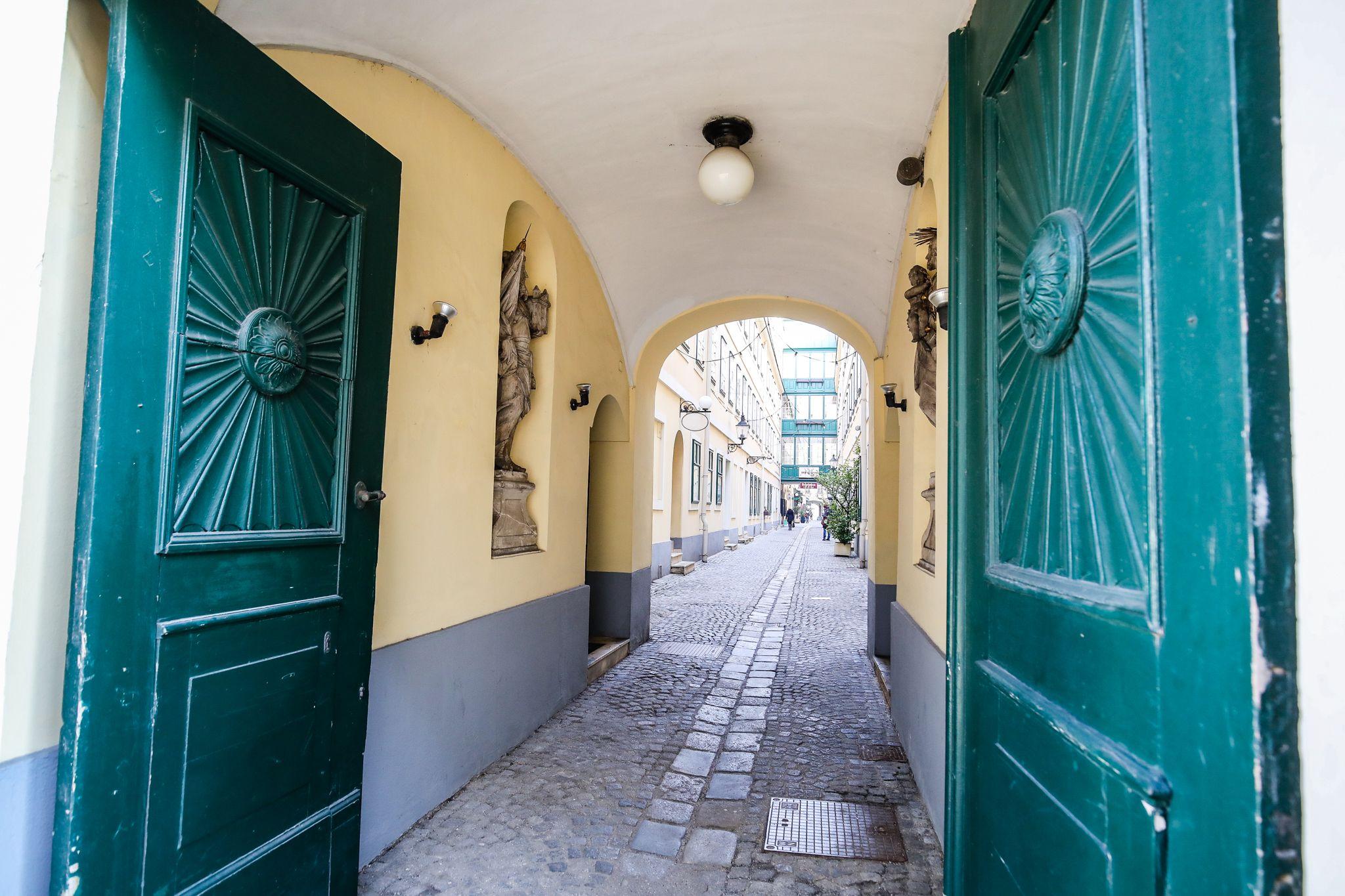 Durchgang durch den Sünnhof, © Christian Fürthner